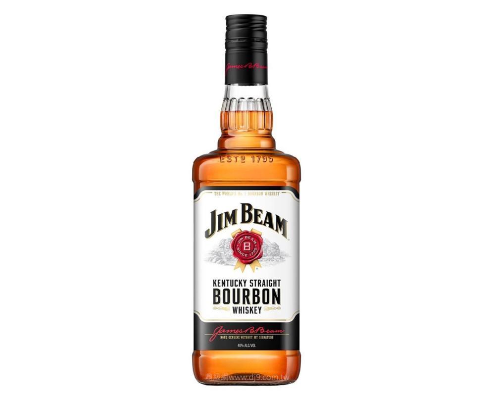 金賓白牌波本威士忌