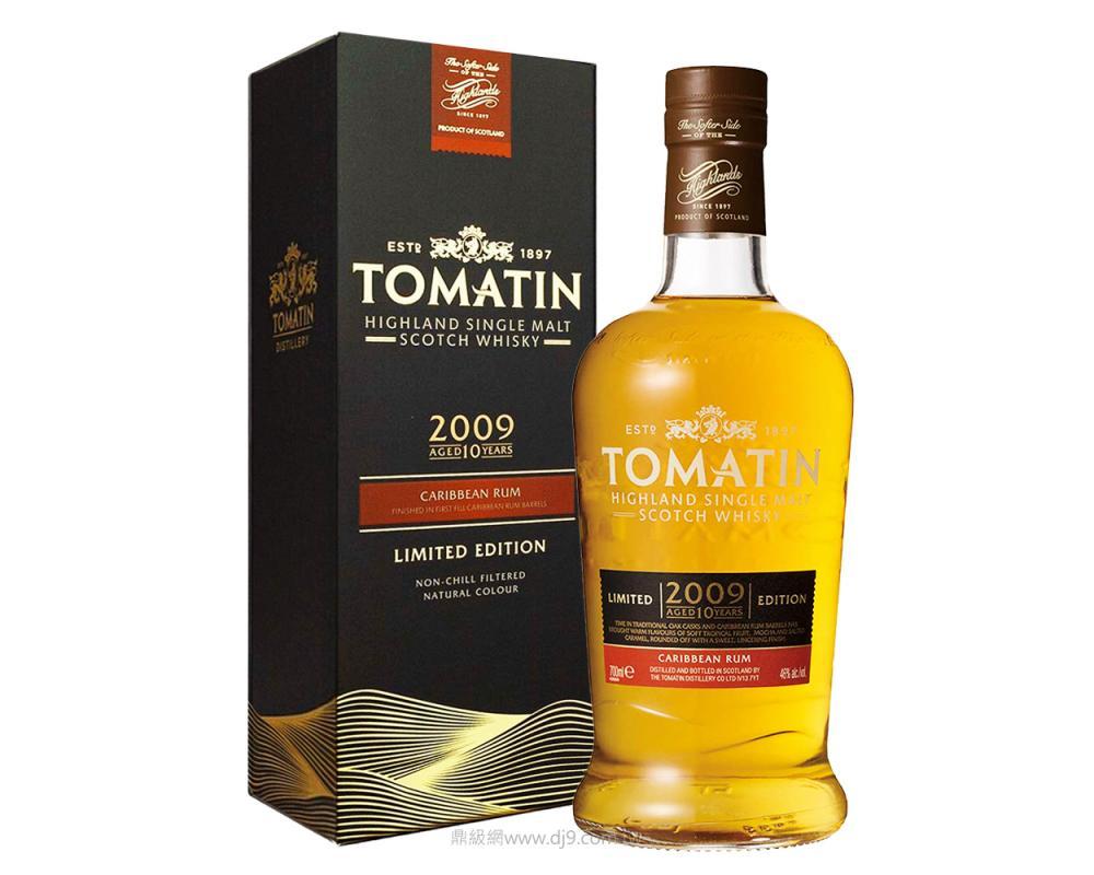 湯馬丁10年Caribbean萊姆桶單一麥芽威士忌-2009限量版