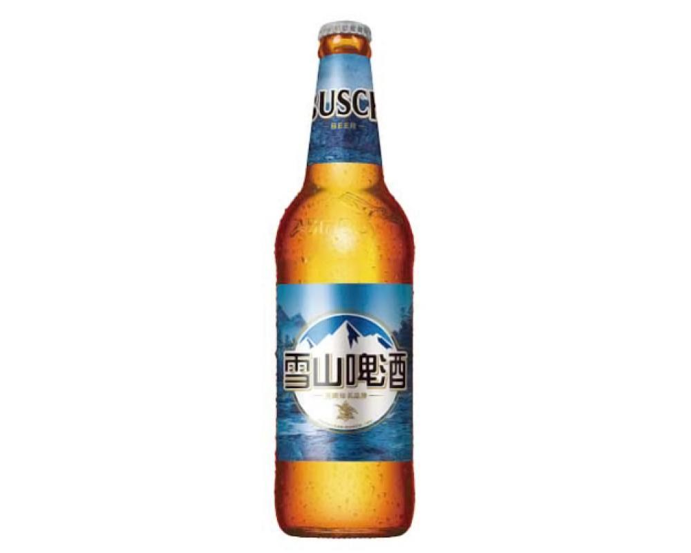 雪山啤酒(580mlx12瓶)