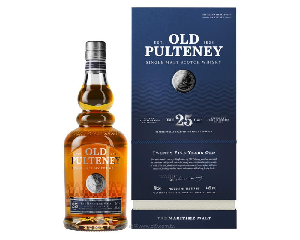 富特尼25年單一麥芽威士忌-新版