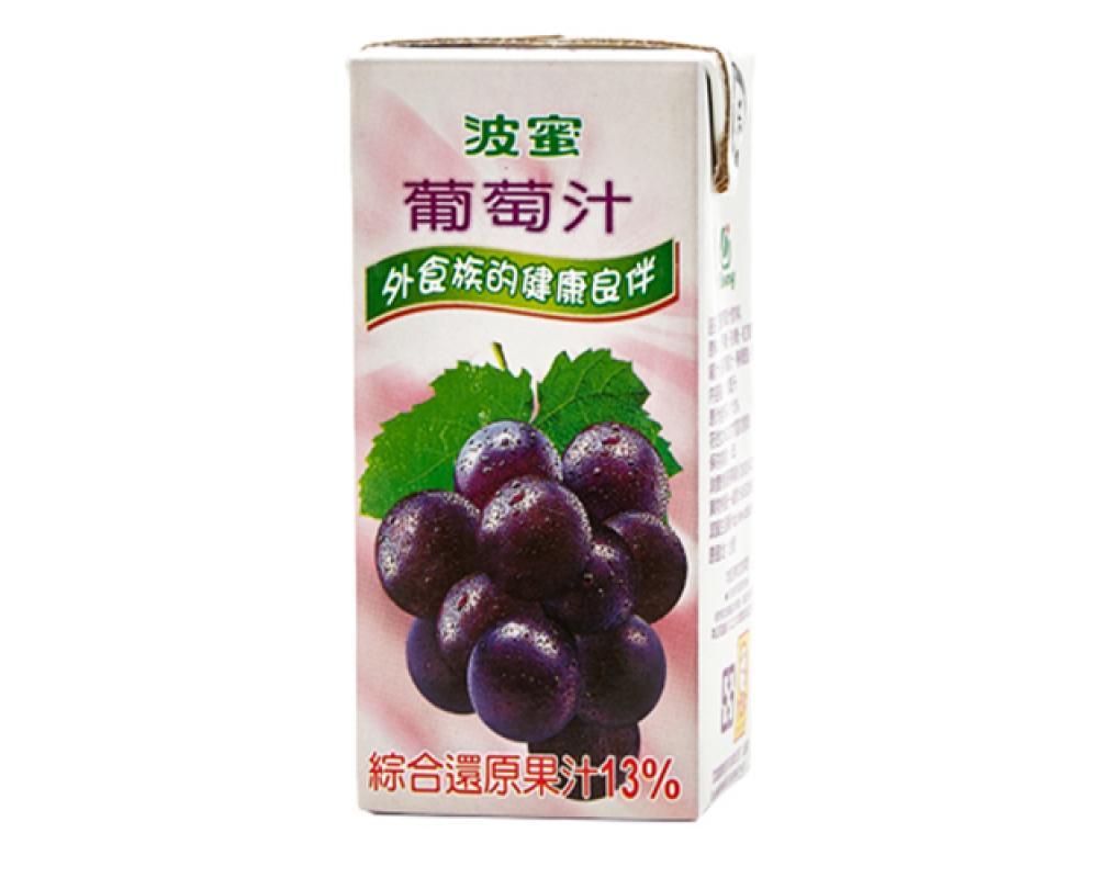 波蜜葡萄汁