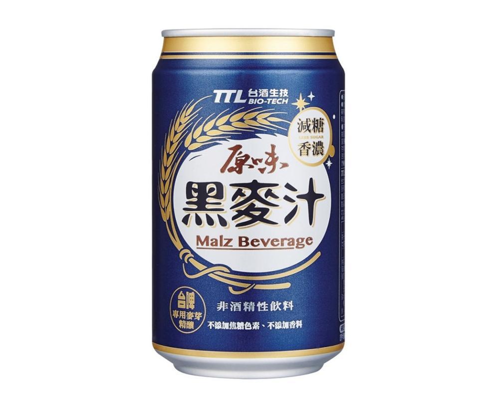 台酒TTL原味黑麥汁(330mlx24罐)