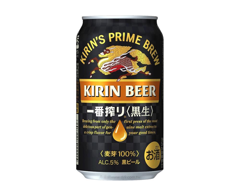 麒麟一番搾黑啤酒(350mlx24罐)