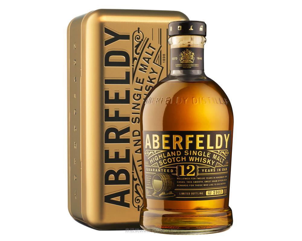 艾柏迪12年單一麥芽威士忌-限量金裝特仕版