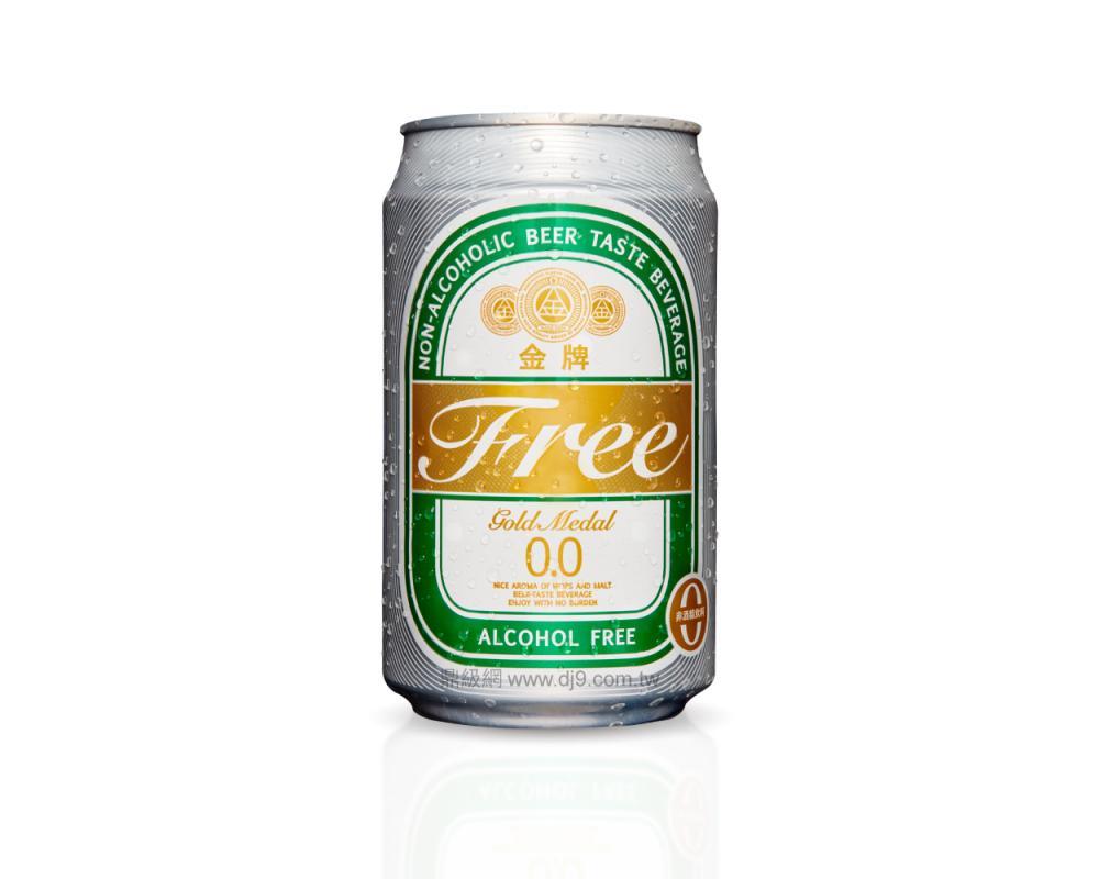 金牌Free啤酒風味飲料(330mlx24罐)