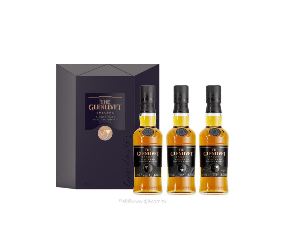 格蘭利威Spectra酩光三重奏威士忌