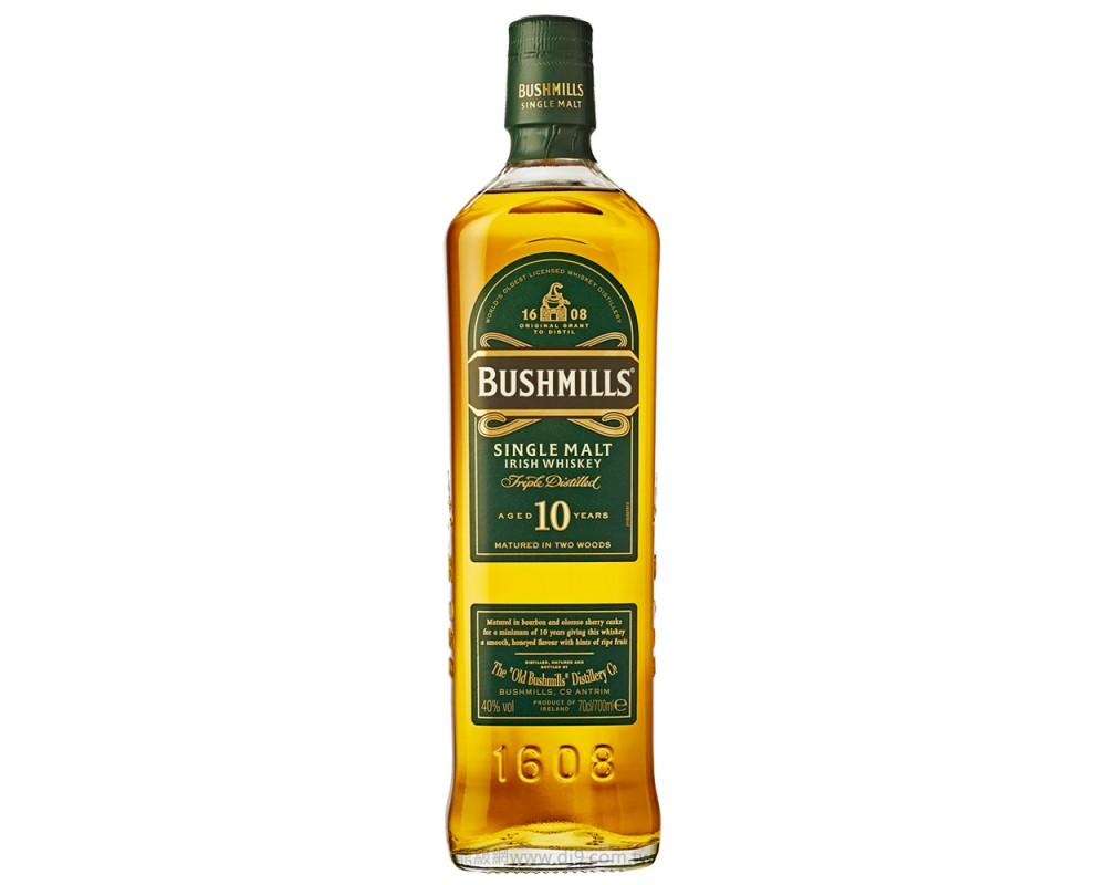 布什米爾10年單一麥芽威士忌