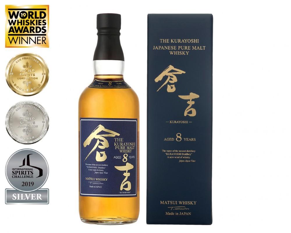 倉吉8年 純麥威士忌★日本威士忌