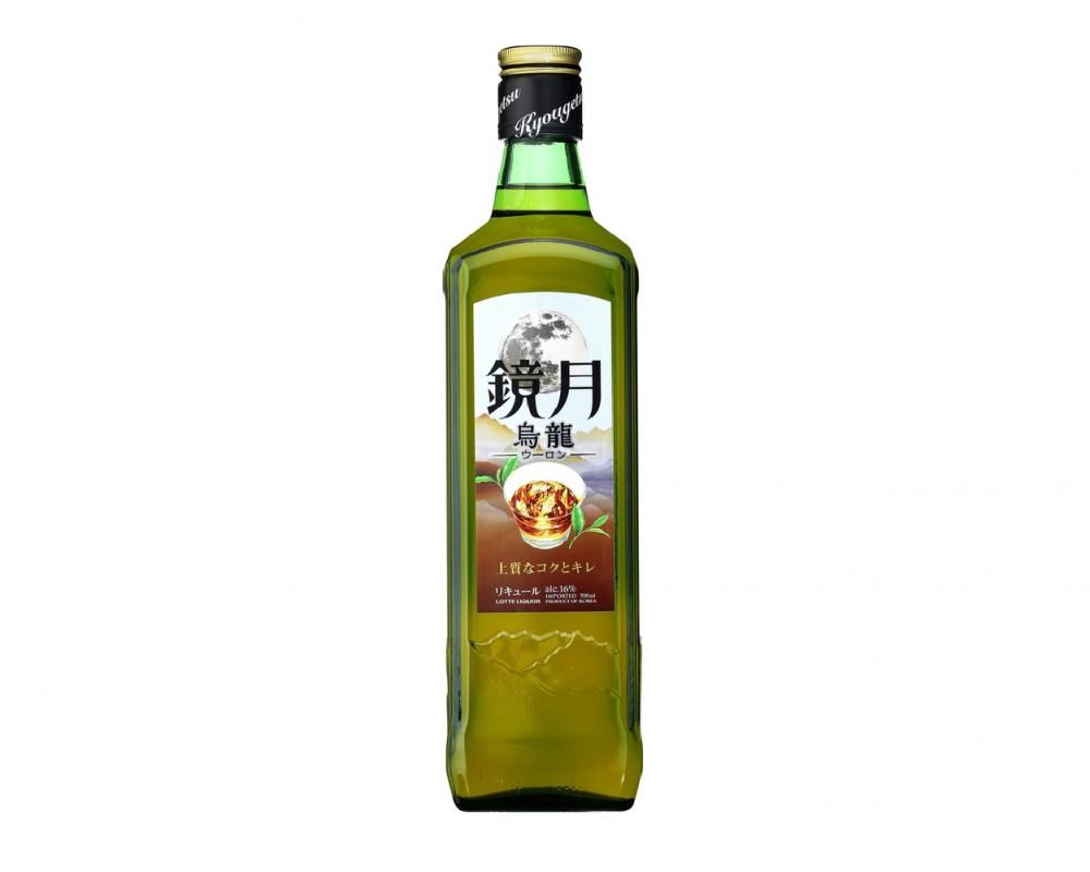 韓國 樂天鏡⽉燒酎(烏龍茶風味).700ml