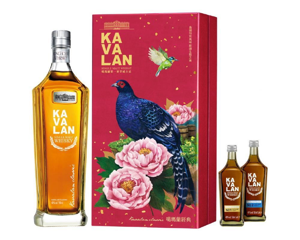 噶瑪蘭 經典單⼀麥芽威⼠忌.700ml(威士忌禮盒)