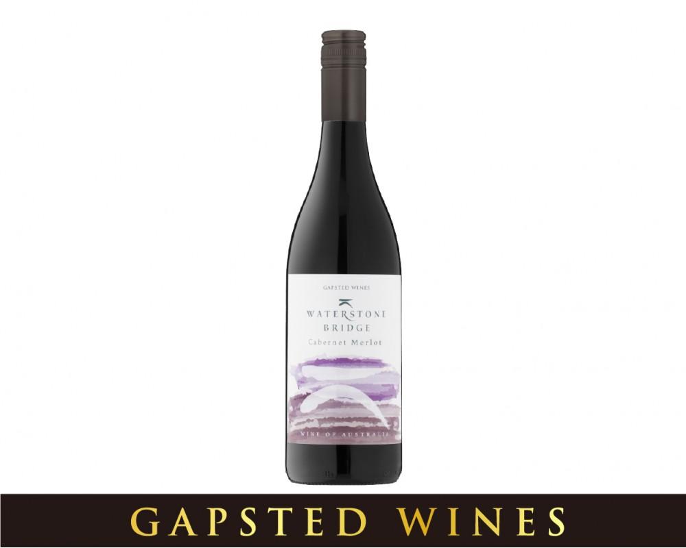 澳洲 畢波橋卡本內梅洛紅酒.750ml