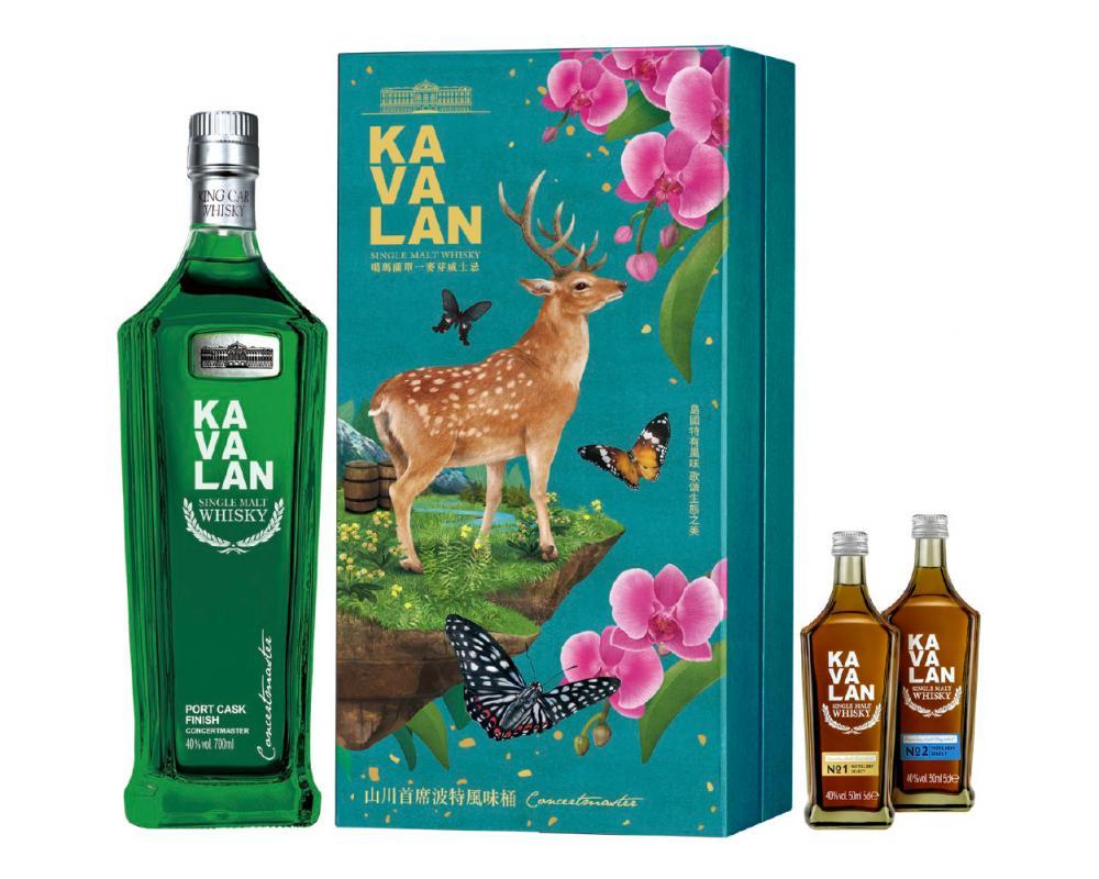 噶瑪蘭山川首席波特風味桶單一麥芽威士忌.700ml(威士忌禮盒)