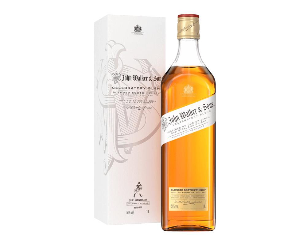 蘇格蘭 約翰走路 麥芽調和威士忌.700ml(200週年限量紀念版)