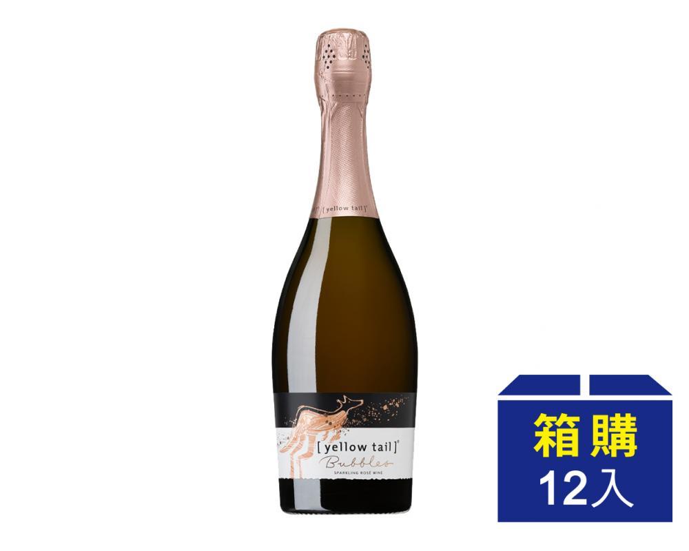 【箱購優惠】澳洲 黃尾袋鼠 粉紅汽泡酒.750ml(12入)
