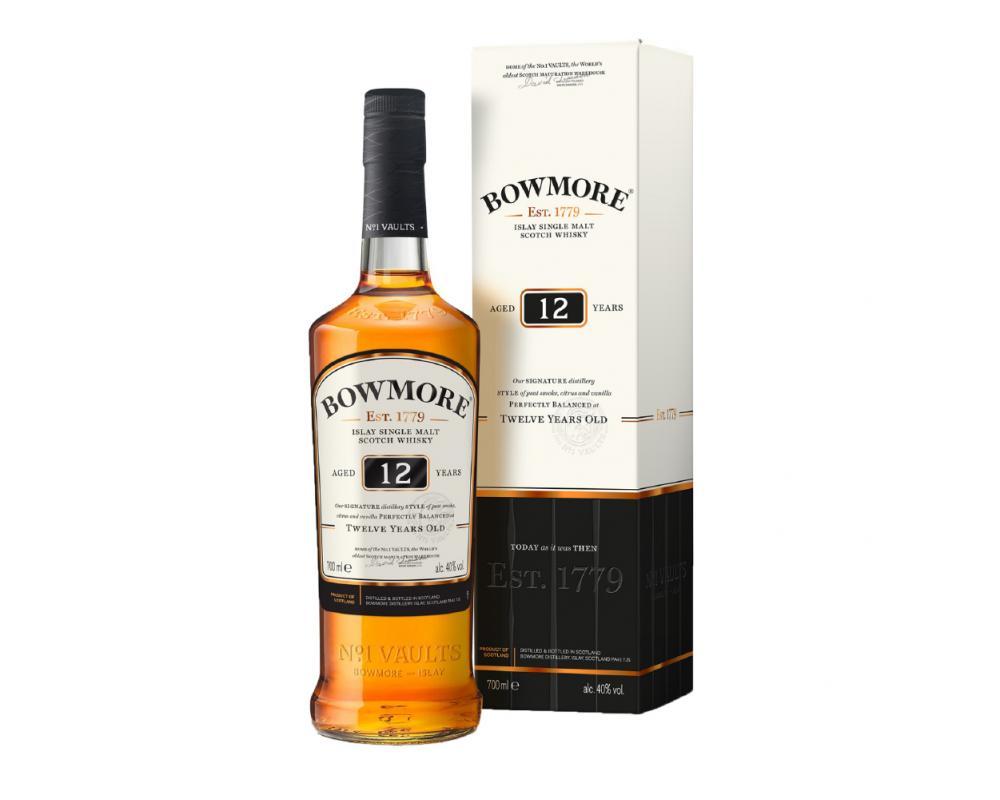 蘇格蘭 波摩 12年單一麥芽威士忌.700ml