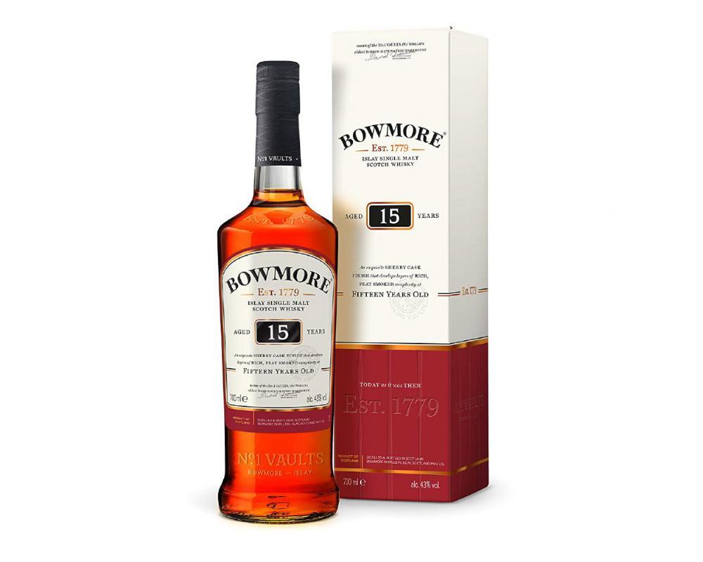 蘇格蘭 波摩 15年單一麥芽威士忌.700ml