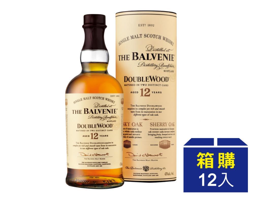 【箱購優惠】蘇格蘭 百富12年 單⼀純麥威⼠忌 700ml(12入)