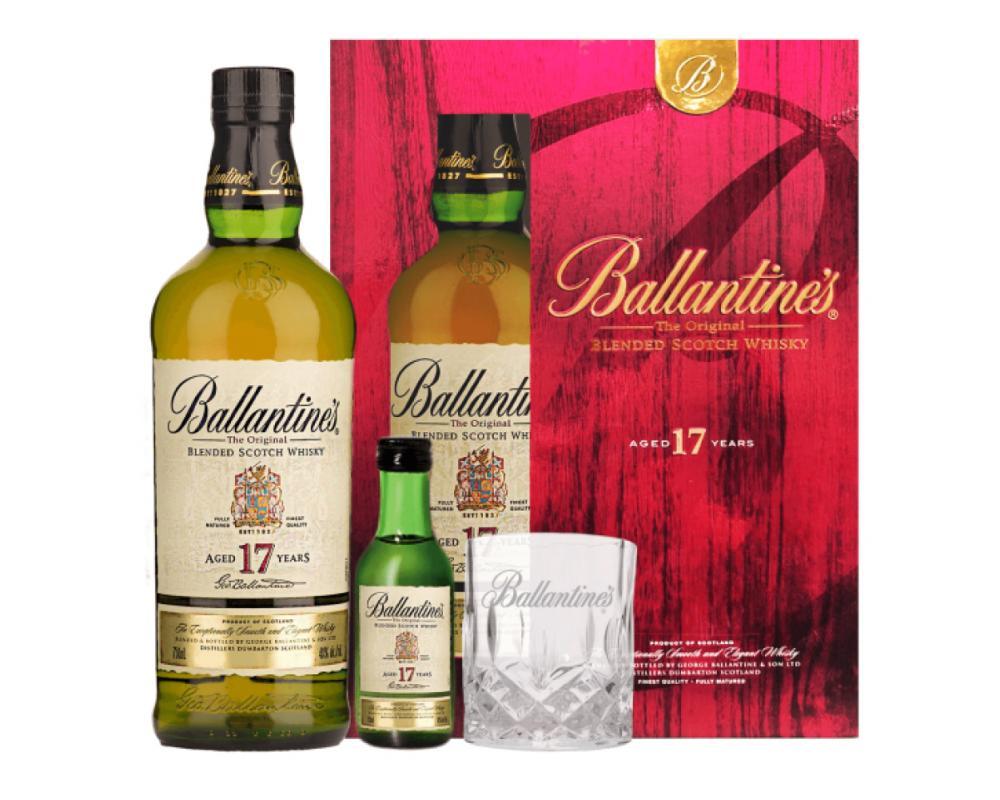 蘇格蘭 百齡罈17年蘇格蘭威⼠忌.700ml(威士忌禮盒-2019限定)