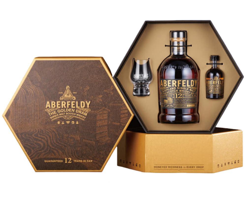 蘇格蘭 艾柏迪 12年.700ml(威士忌禮盒-2021年限定)
