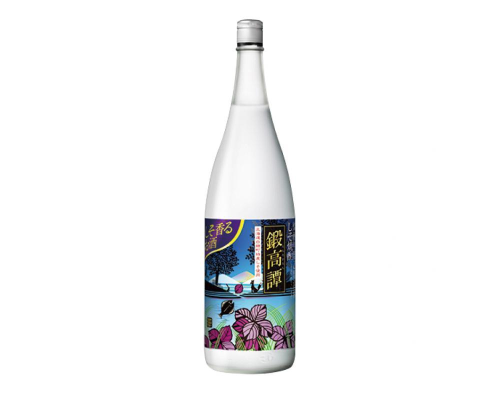 日本北海道 鍛高譚 紫蘇燒酎.1800ml