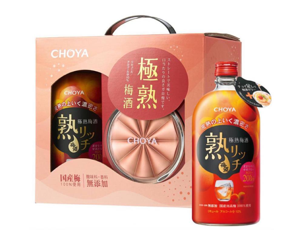 ⽇本 CHOYA 極熟梅酒.720ml(梅酒禮盒)
