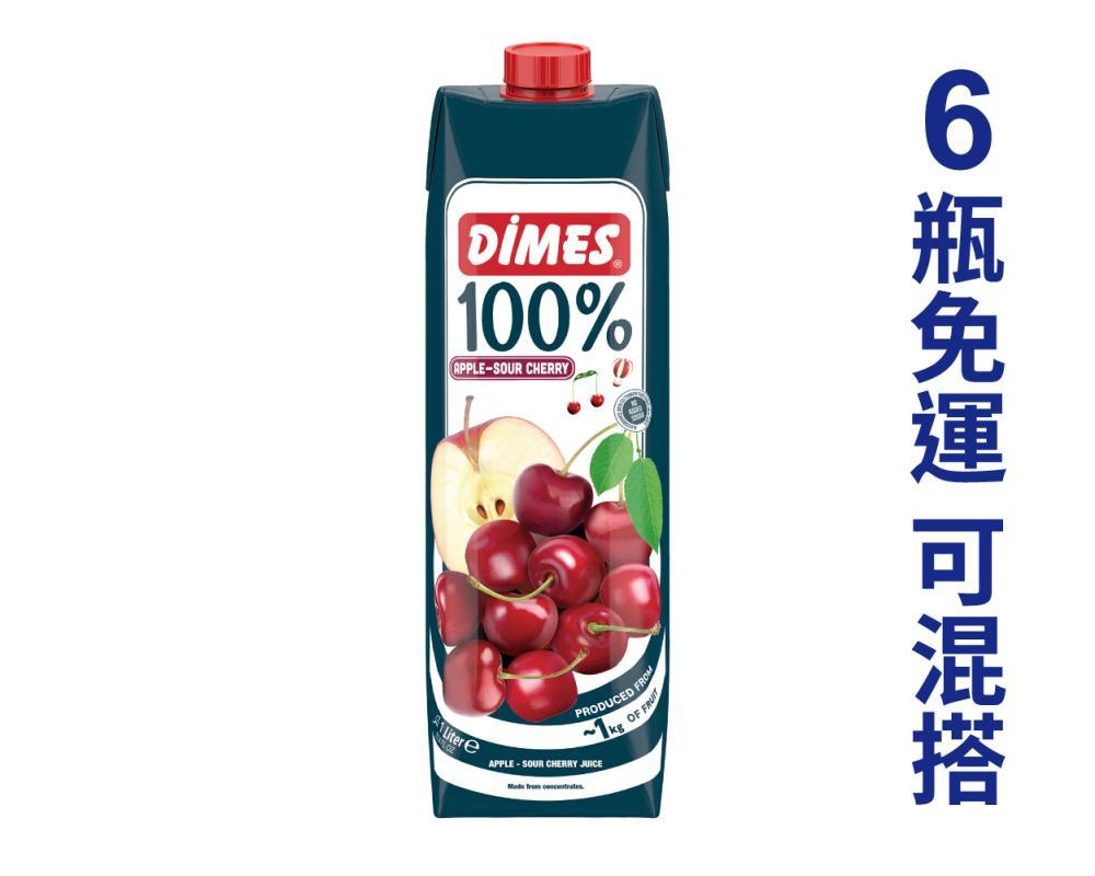 地美 櫻桃蘋果綜合果汁.1L