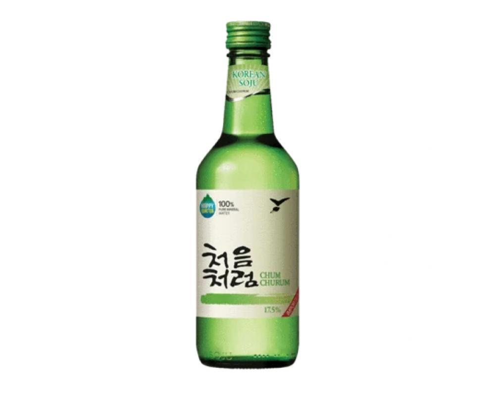 韓國 樂天 初飲初樂 原味燒酒.360ml