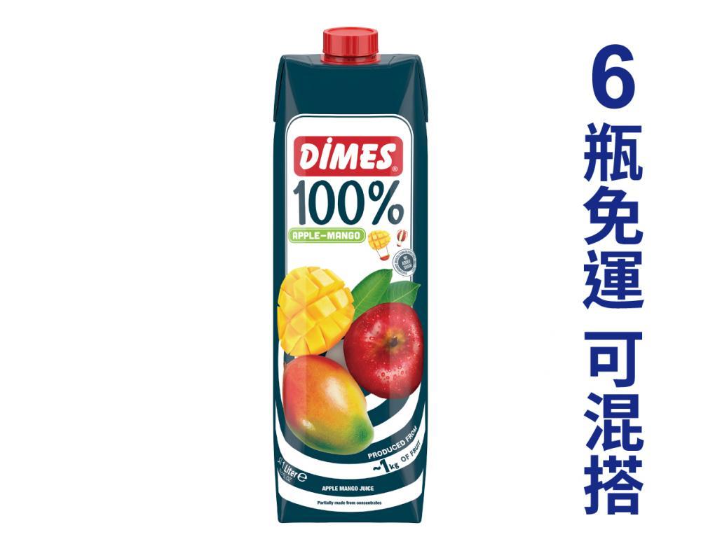 地美 芒果蘋果綜合果汁.1L