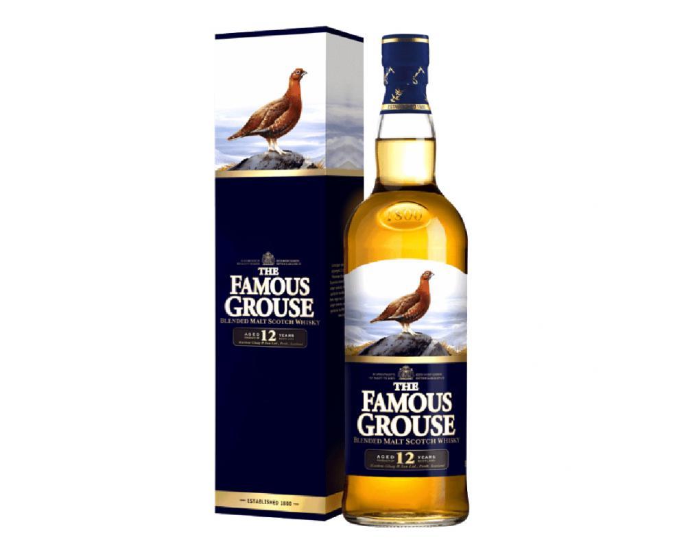 蘇格蘭 威雀12年 純麥威⼠忌.700ml