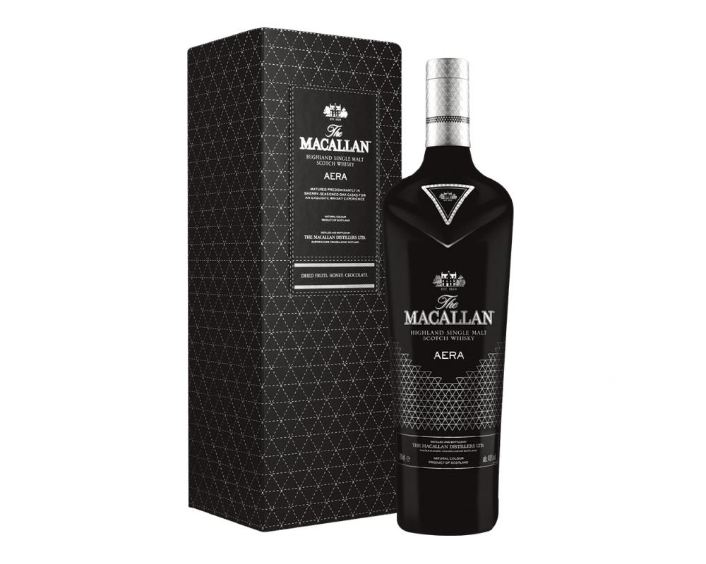 蘇格蘭 麥卡倫 AERA 御⿊ 單⼀麥芽威⼠忌.700ml