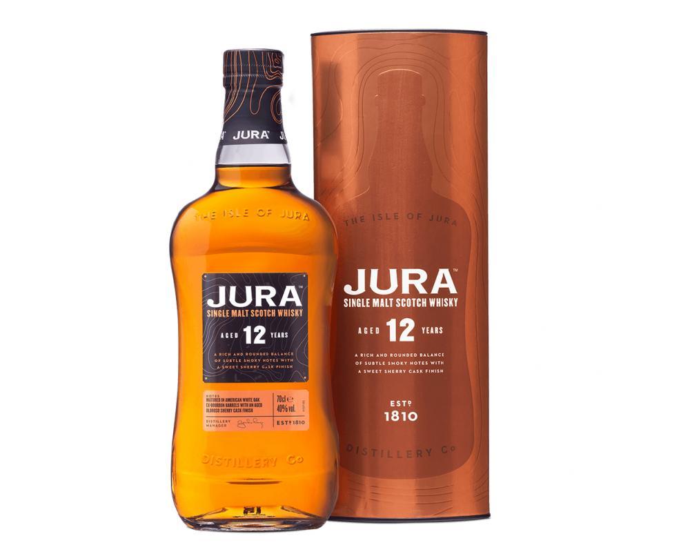 蘇格蘭 吉拉 12年單⼀純麥威⼠忌.700ml
