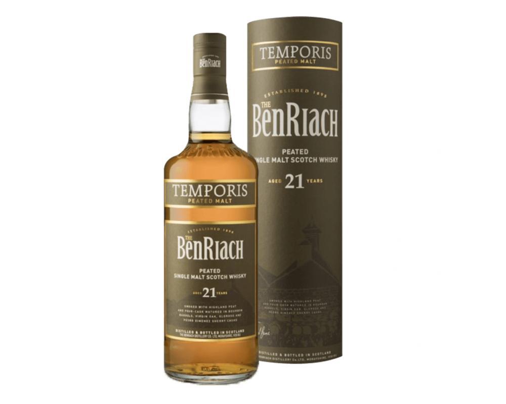 蘇格蘭 班瑞克 21年泥煤桶單一純麥威士忌.700ml