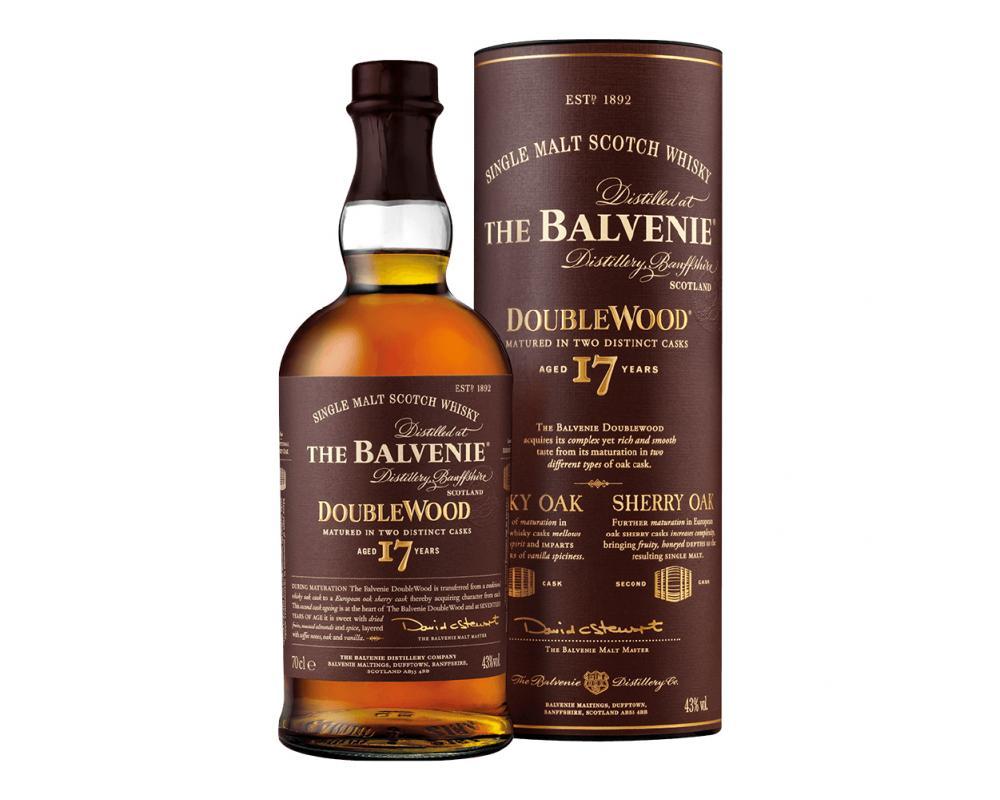 蘇格蘭 百富17年雙桶 單一純麥威士忌.700ml