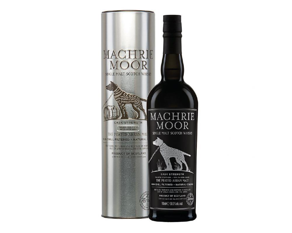 蘇格蘭 愛倫MACHRIE MOOR強度原酒 單一純麥威士忌.700ml