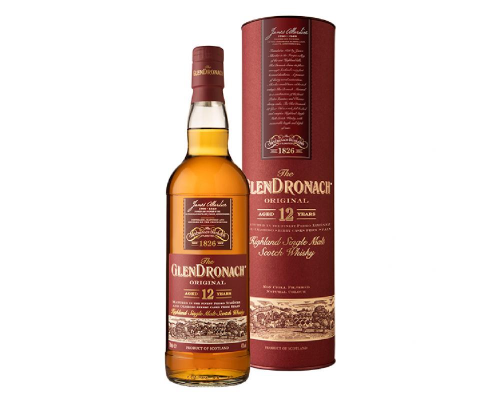 蘇格蘭 格蘭多納 12年單一麥芽威士忌.700ml