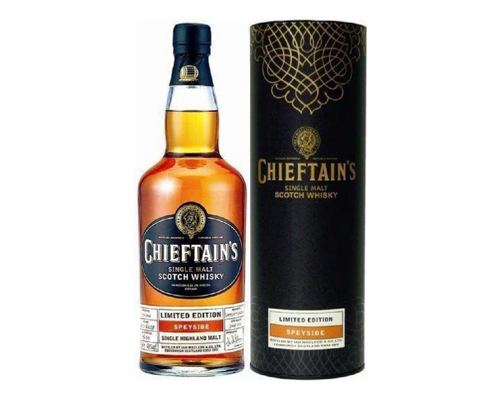 蘇格蘭 老酋長精釀 單一純麥威士忌.700ml