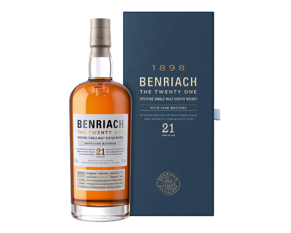 蘇格蘭 班瑞克 21年單一純麥威士忌.700ml
