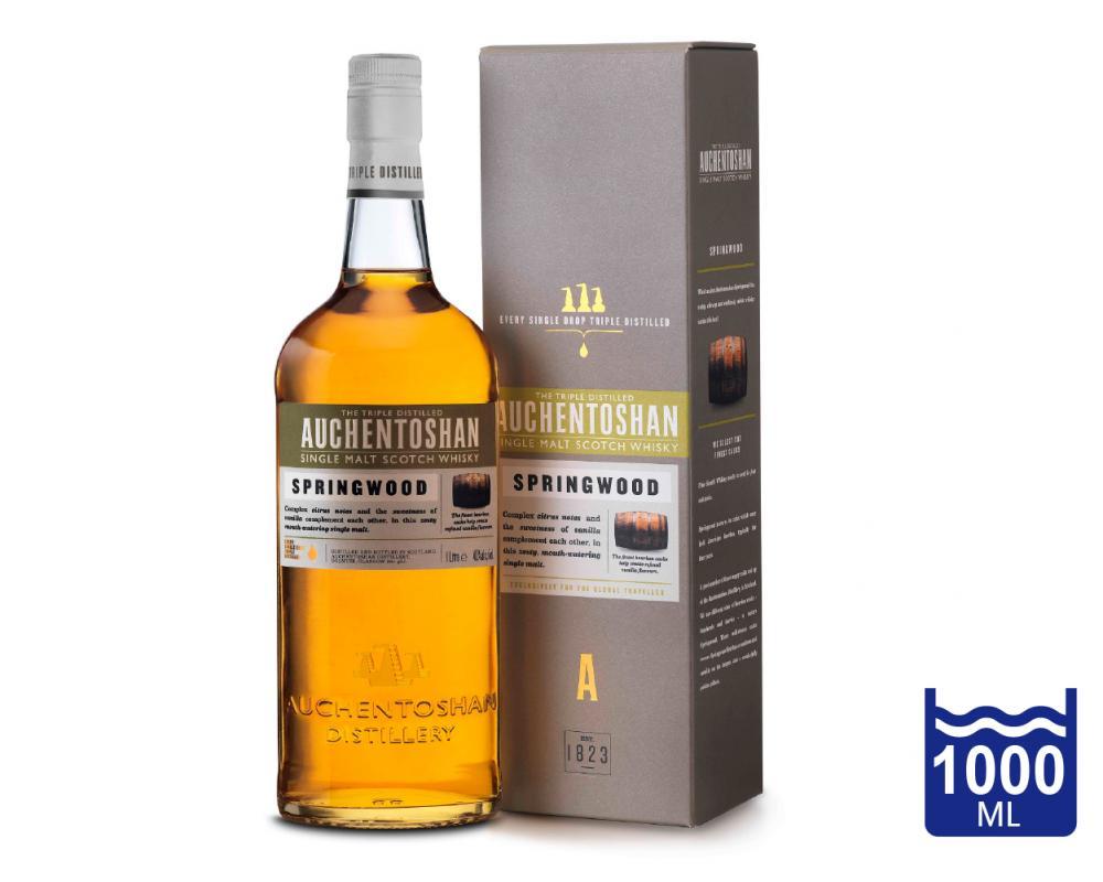 蘇格蘭 歐肯特軒SPRINGWOOD春材 單一純麥威士忌.1L
