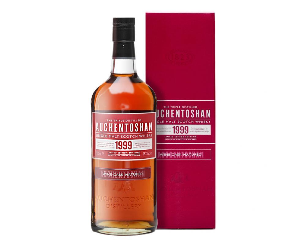 蘇格蘭 歐肯特軒 1999紅酒桶 單一純麥威士忌.700ml