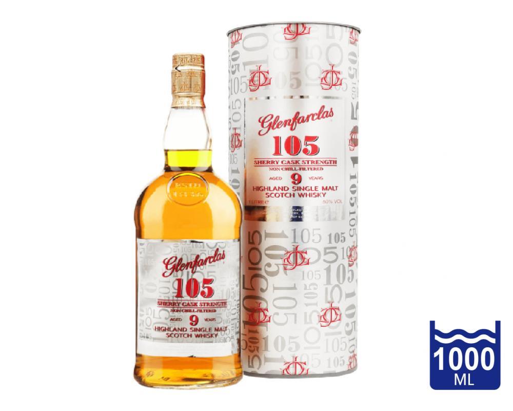 蘇格蘭 格蘭花格 105_9年原酒單一純麥威士忌.1L