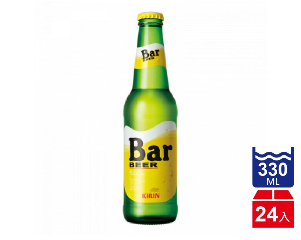 日本 麒麟 KIRIN BAR 啤酒.330ml(330mlx24入)