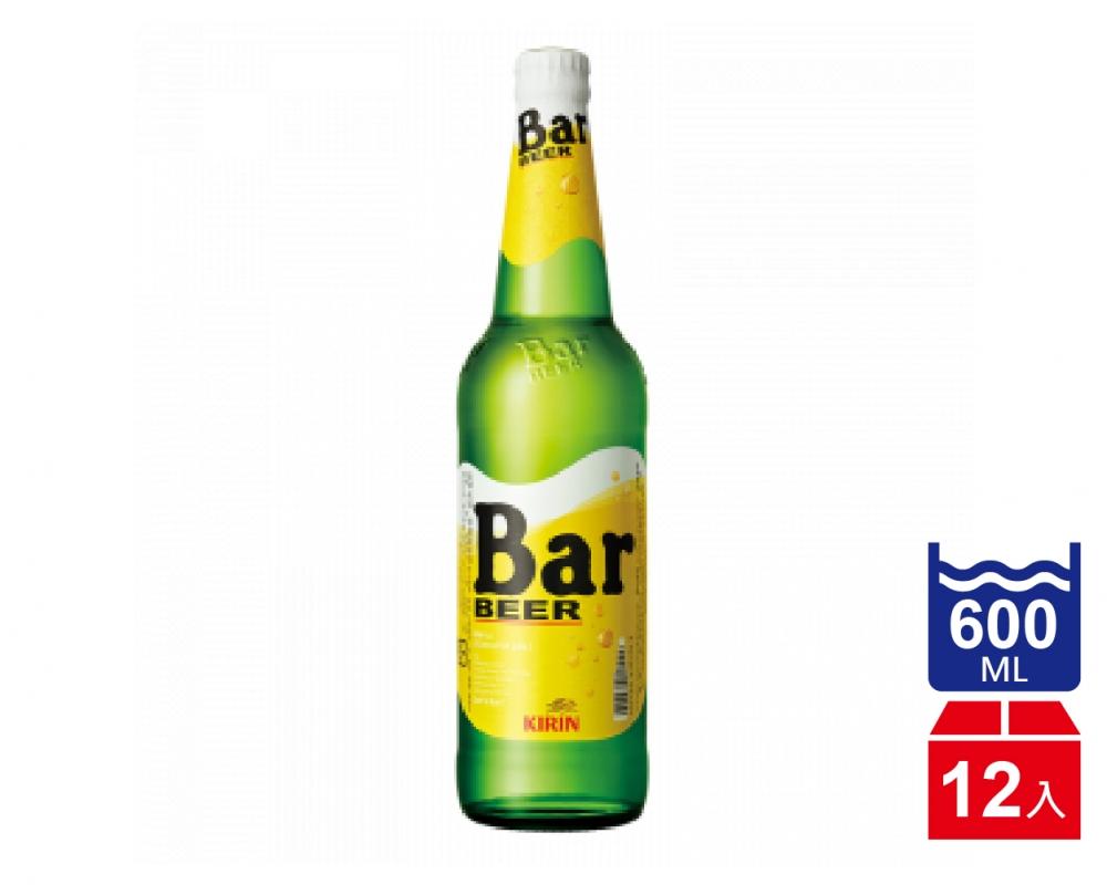 日本 麒麟 KIRIN BAR 啤酒.600ml(600mlx12入)