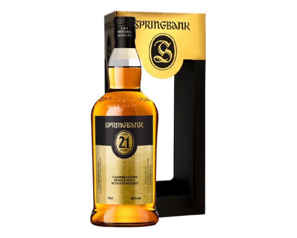 蘇格蘭 雲頂21年 單一麥芽威士忌.700ml