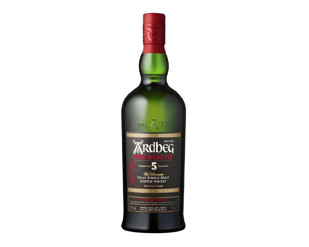 蘇格蘭 雅柏 艾雷 5年小野獸單一麥芽威士忌.700ml