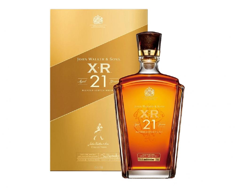 蘇格蘭 約翰走路XR 21年調和威士忌.750ml