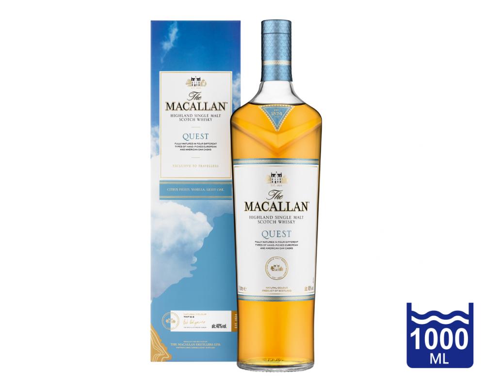蘇格蘭 麥卡倫 探索系列 藍天QUEST單一麥芽威士忌.1L