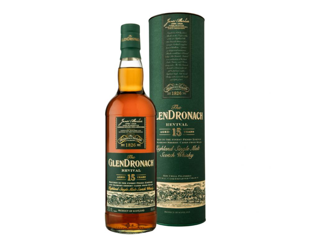 蘇格蘭 格蘭多納 15年單一麥芽威士忌.700ml