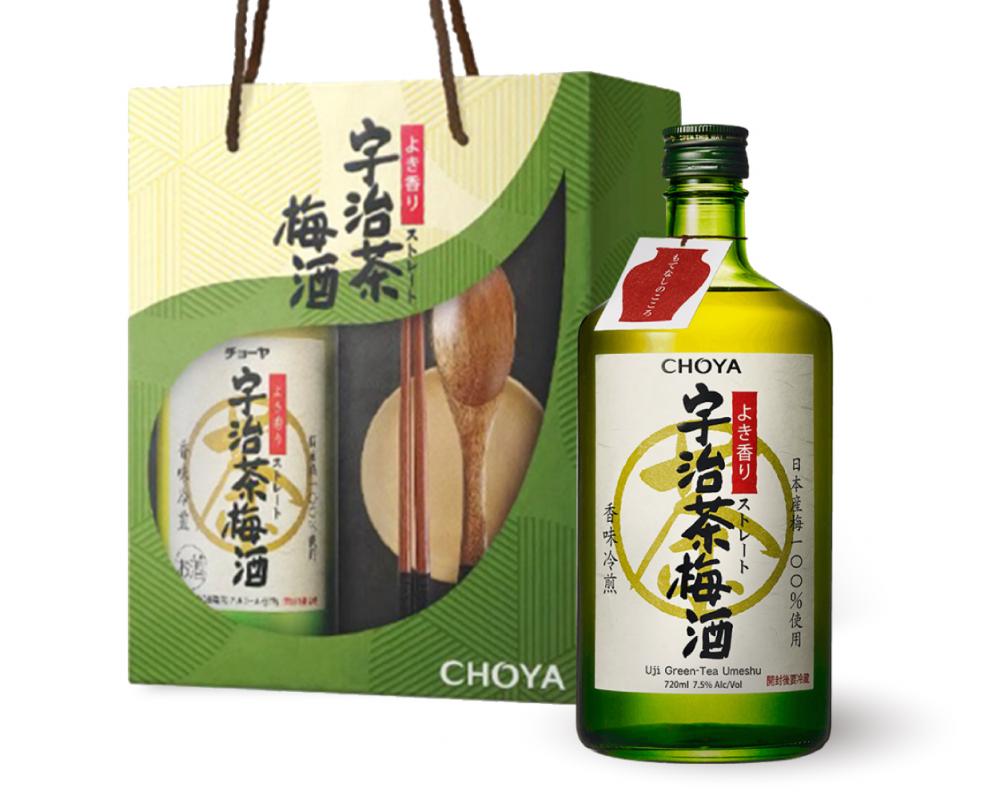 【CHOYA梅酒禮盒2019】宇治茶梅酒禮盒