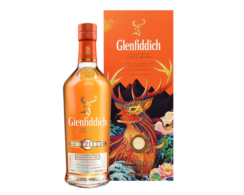 蘇格蘭 格蘭菲迪21年 單一純麥威士忌.700ml__威士忌禮盒2020新春限定