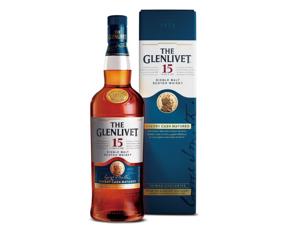 格蘭利威15年純正雪莉桶單一麥芽威士忌